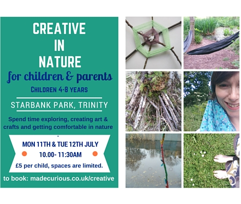 facebook Starbank JULY creative in nature flyers